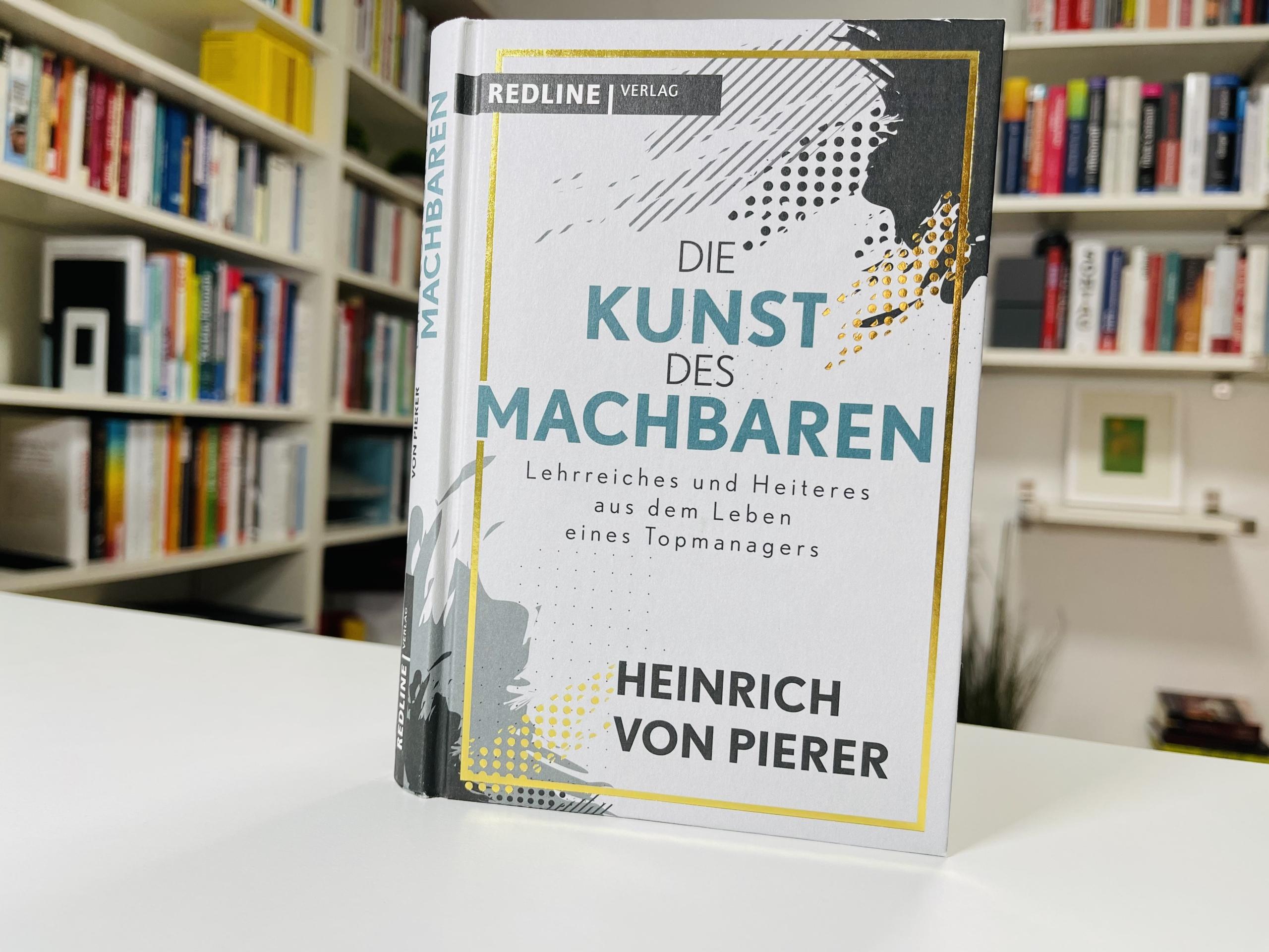 """Buch """"Die Kunst des Machbaren"""" von Heinrich von Pierer"""